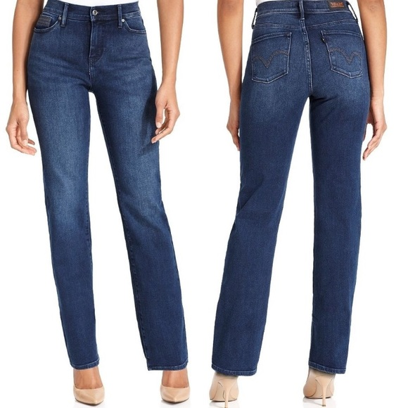 Super discount hoard as a rare commodity enjoy best price Levi's 512 Perfectly Slimming Straight Leg Size 16